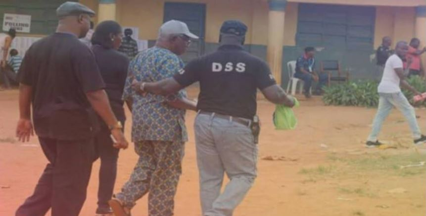 DSS Arrest Man Who Was Caught Trying To Buy Votes During Anambra Election (Photo)