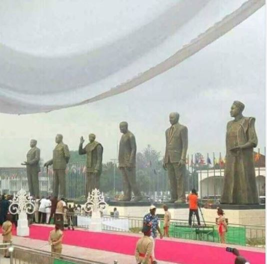Statues of Obasanjo, Ekwueme, Awolowo, Mbakwe To Be Unveiled By Okorocha