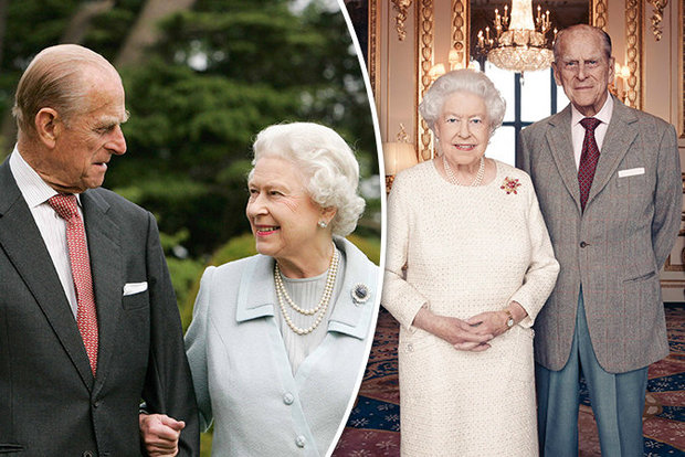 Inside the 70th Exclusive Anniversary Party of the Queen of England and Her Husband (Photos)