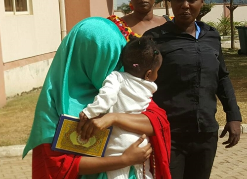 hotos from the Court Appearance of Maryam Sanda, Wife of Ex-PDP Chairman's Son Who Stabbed Husband to Death