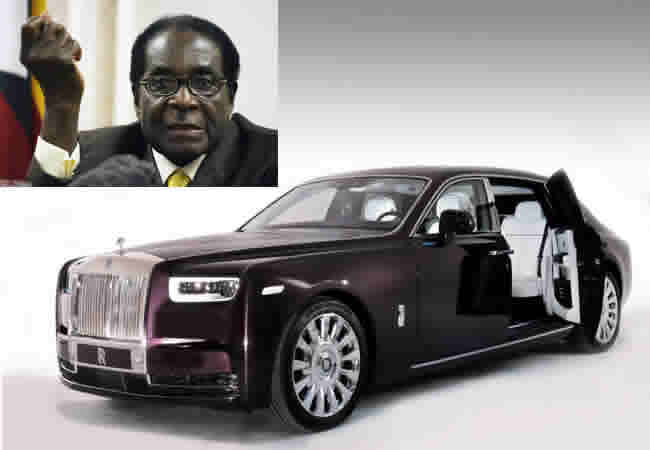 How Mugabe Amassed $1bn - Including A Rare Rolls-Royce Worth More Than Zimbabwe's Economy