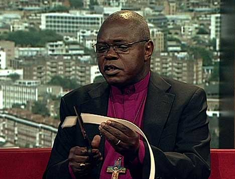 Ten Years After His Protest, UK Archbishop Puts His Collar Back On After Robert Mugabe's Fall