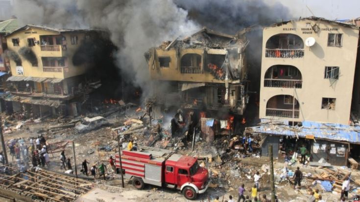 Candle Fire Kills Two Kids in Lagos, Destroys Apartment