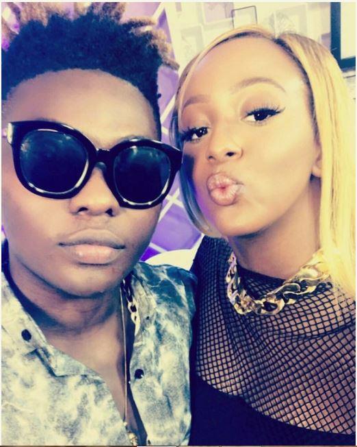Reekado Banks Flirts with Billionaire Otedola`s Daughter