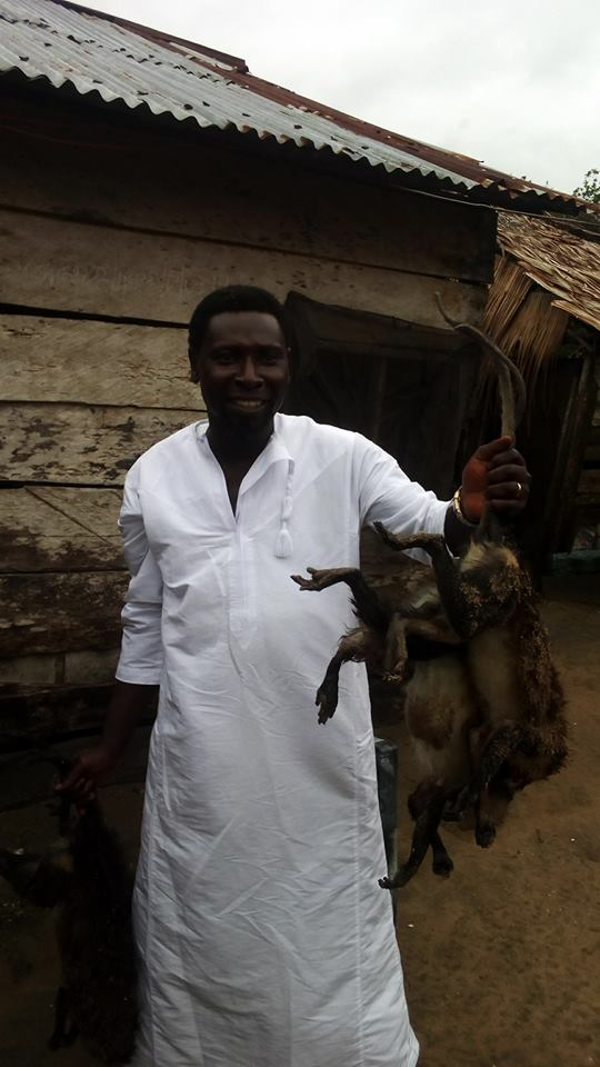 MonkeyPox: Rivers State-Based Nigerian Man Defies FG's Warning, Kills and Uses Monkey for Peppersoup (Photos)