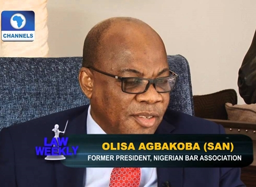BREAKING News: Nigerian Lawyer, Agbakoba (SAN) Sues Buhari for Being Petroleum Minister