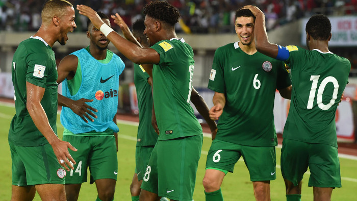 Nigeria Now 41In Latest FIFA Ranking