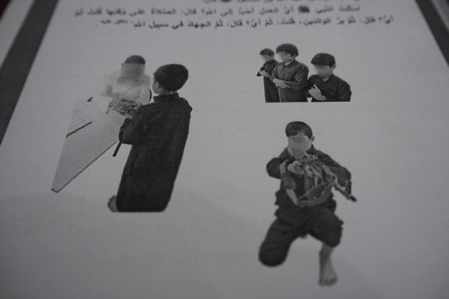 See the ISIS Schoolbooks Used to Brainwash Children Into Becoming Next Generation of Jihadists