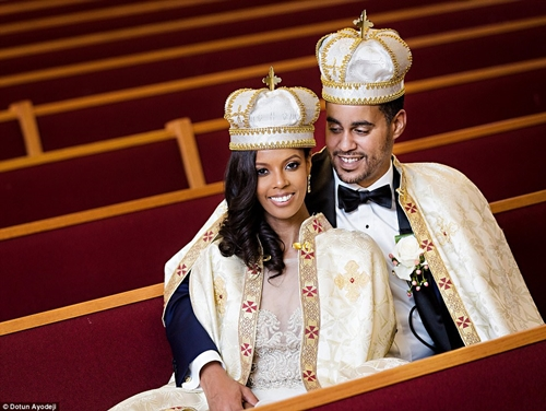 Woman Becomes a Princess After Marrying a Man She Met at a Nightclub Who Turned Out to be an Ethiopian Prince (Photos)