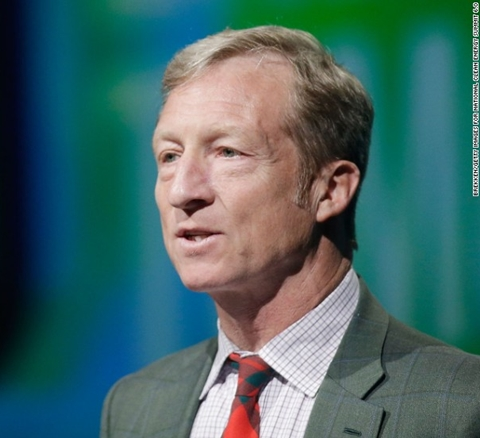 Billionaire Environmentalist, Tom Steyer Launches a $10 million Campaign to Impeach Donald Trump