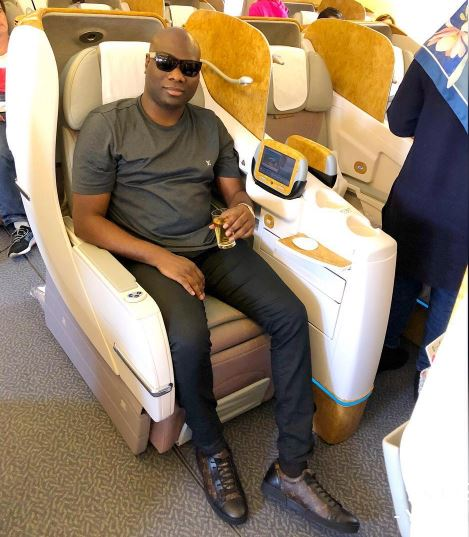Mompha Replies Hushpuppi, Shares Photos Of Hushpuppi's Father Taxi In Lagos