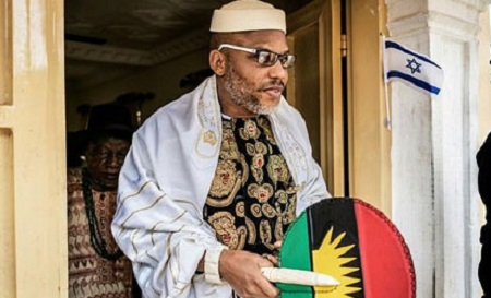 Police Place Nnamdi Kanu Under Surveillance to Prevent Him From Fleeing Once His Bail Gets Revoked