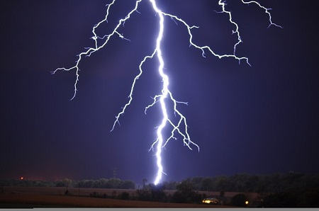 Serious Commotion as Lightning Strikes at Music Festival...Checkout the Damages Caused