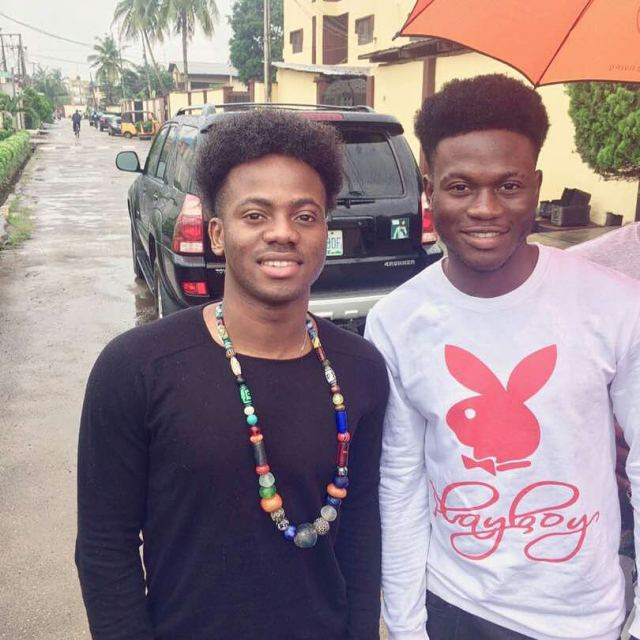 Korede Bello Meets His Twin Brother