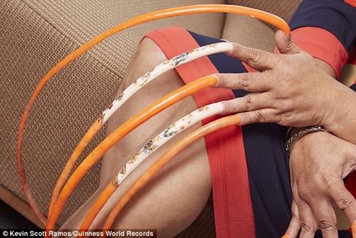 World longest nails 2