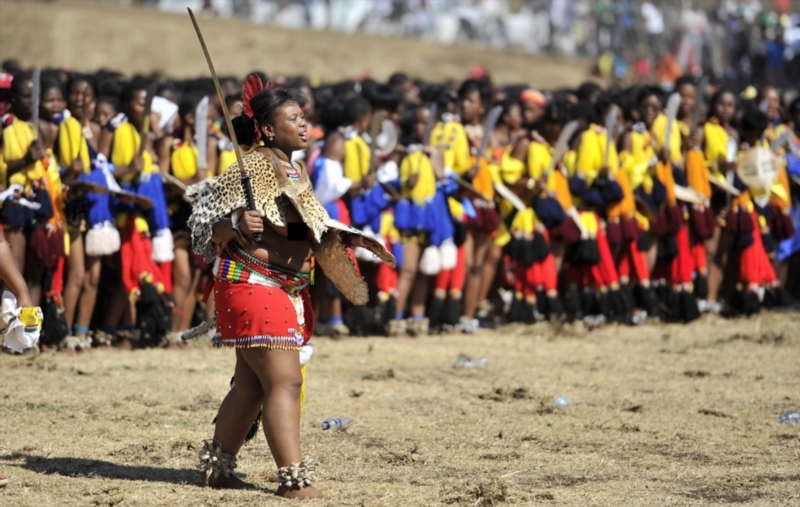 Scantily-Clad Zulu Virgins Participate at the 2017 Annual ...