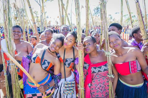 The Eye Newspaper: 2017 Zulu Virgin Annual Reed Dance in ...
