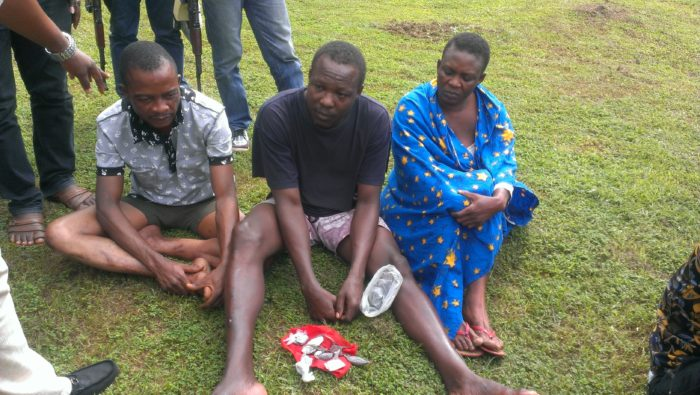 Witch Doctor Who Prepares Charms For Human Trafficking Victims Confesses in Edo State (Photo)