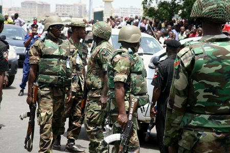 Onuoha Ukeh explains that the military's claim that the relaunch of Operation Python Dance in the South East is meant to fight crime, is quite laughable.