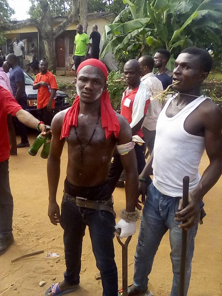 IPOB Member Declares He is Ready to Die in Battle with Nigerian Army (Photos)