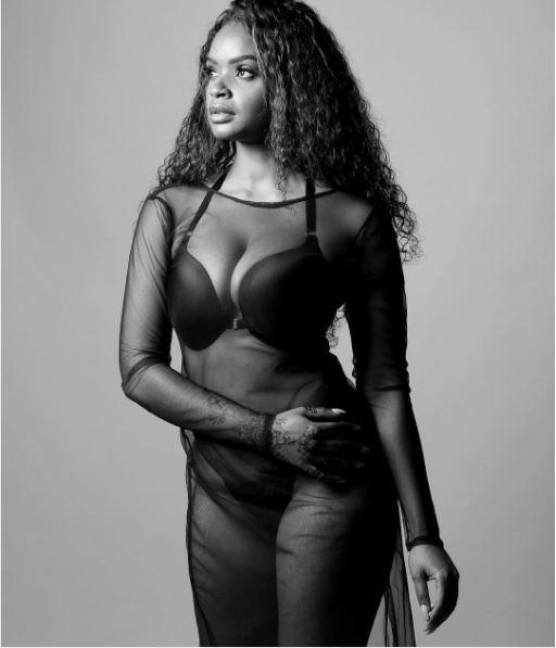 {filename}-Big Brother Star, Dillish Mathews Exposes Panties And Bra In Transparent Outfit (photos)