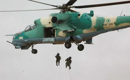 Nigerian Air Force Concludes Clearance Operations Against Boko Haram in Sambisa Forest