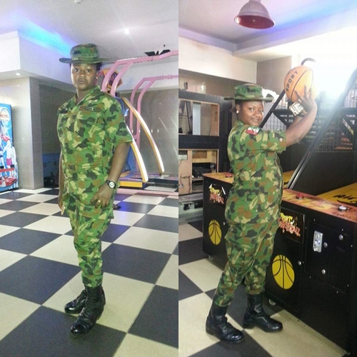 Don`t Be Afraid to Approach a Female Soldier You Love - Nigerian Female Army Officer Advises Men (Photos)
