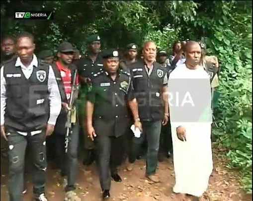 Evil Badoo Shrine Belonging to Multi-Millionaire Oil Marketer Finally Destroyed by Police in Lagos (Photos)