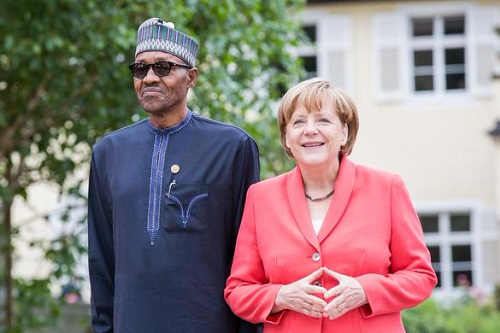 President Buhari Congratulates German Chancellor, Angela Merkel Over Her Recent Victory at The Polls