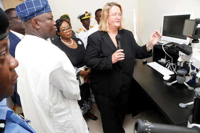 See Photos of the Newly Commissioned DNA Forensic Lab in Lagos State