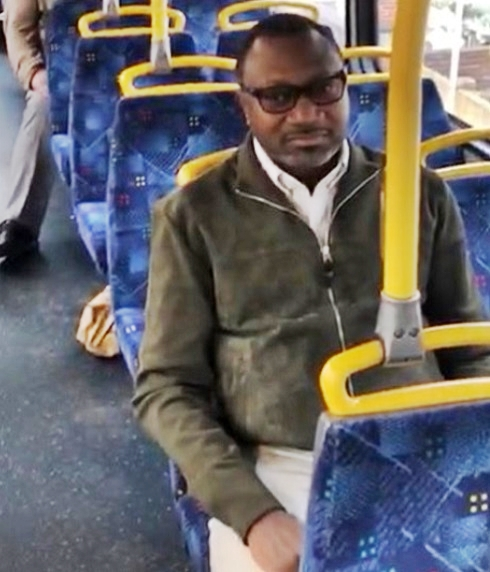 Billionaire Oil Mogul, Femi Otedola Spotted Inside A Commercial Bus In London (Photo/Video)
