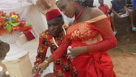 Physically Challenged Man Ties The Knot In Style With His Beautiful Bride (Photos)