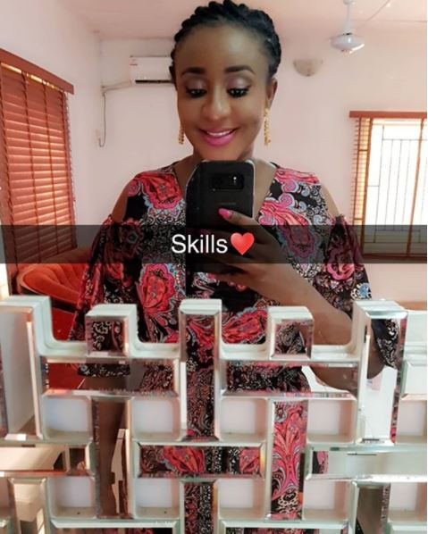 nollywood actress ini edo step out in style