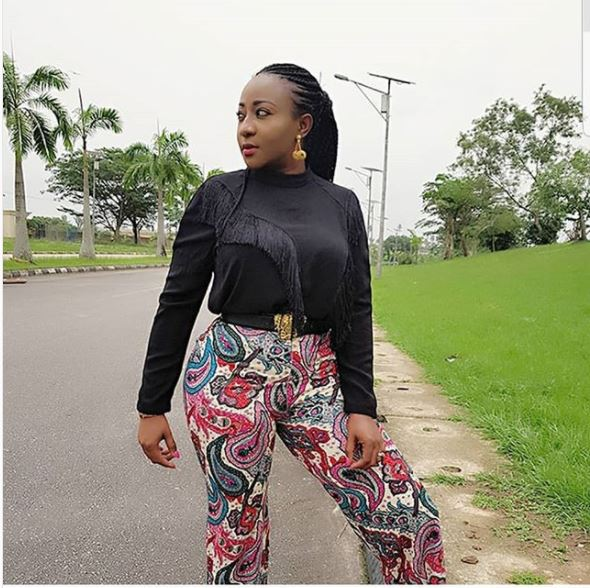 nollywood actress ini edo step out in style finalgist