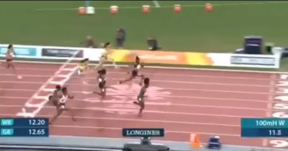 20-year-old Amusan Makes History As First Nigerian To Win 100m Hurdles At Commonwealth Games (Video)