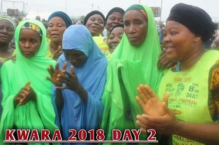 Fulani Women In Hijab Join Lord's Chosen Members For Crusade In Kwara (Photos)