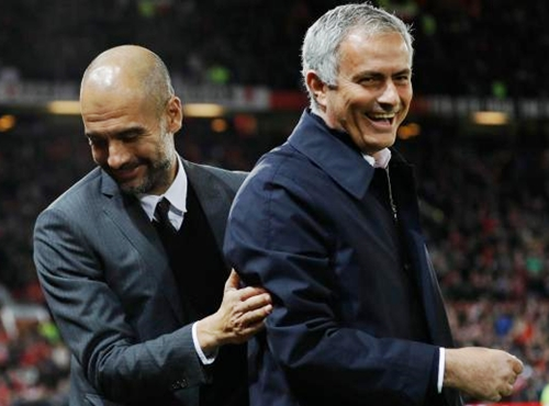 What Mourinho Said About Guardiola After Man City Were Crowned EPL Champions On Sunday