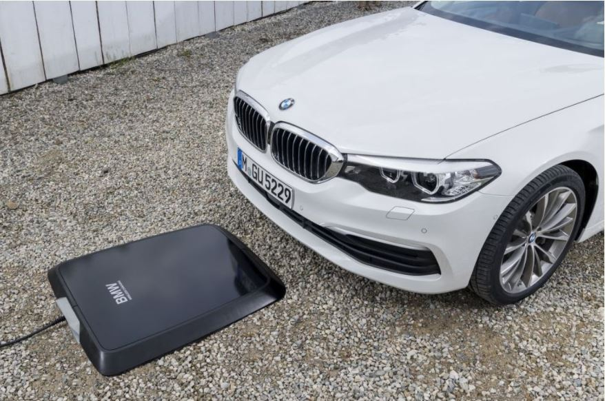 BMW Develops Wireless Charging Pad Can To Charge Cars For Hours (Photos+Video)