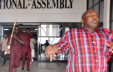 Names Of Arrested Suspects Who Snatched Senate Mace Released