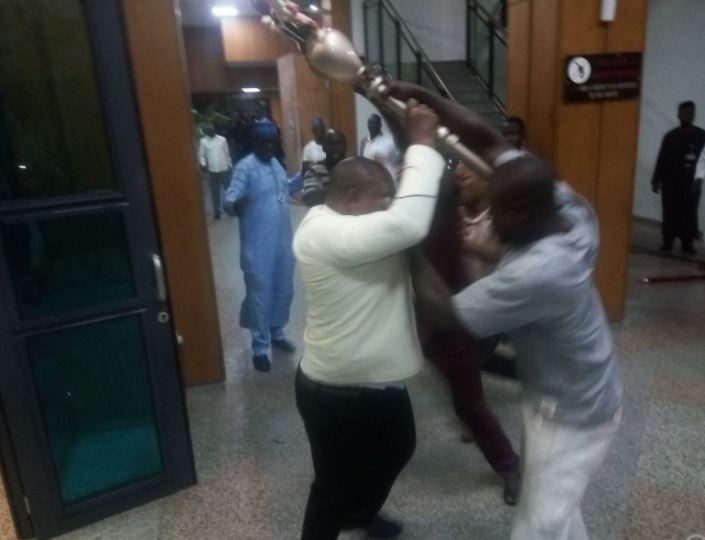 15 Senators Were Involved In The Plot To Steal The Mace From The Senate