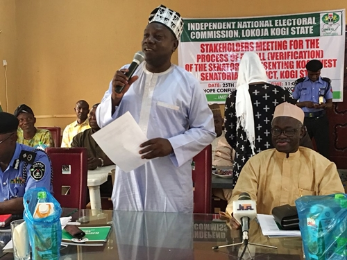 More Trouble For Dino Melaye As INEC Holds Stakeholders Meeting To Kick-start His Recall (Photos)