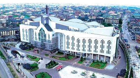 See Photos Of Multi-Billion Naira Ultra-Modern Deeper Life Church Auditorium Completed In Lagos