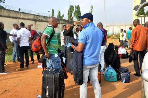 36 Nigerians 'Illegally' Residing In The UK Deported Back To Nigeria