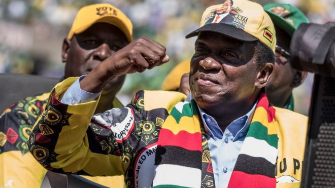 Emmerson Mnangagwa Wins Zimbabwe Presidential Election In First Post-Mugabe Poll