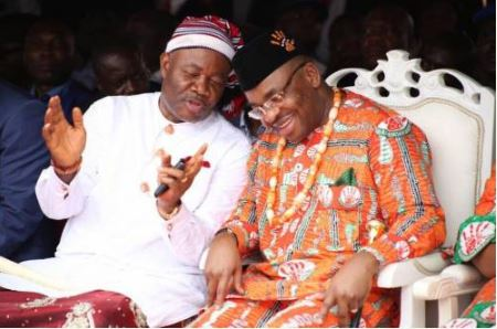 Udom Emmanuel Remains My Governor And A Godfather To My Children, Says Akpabio