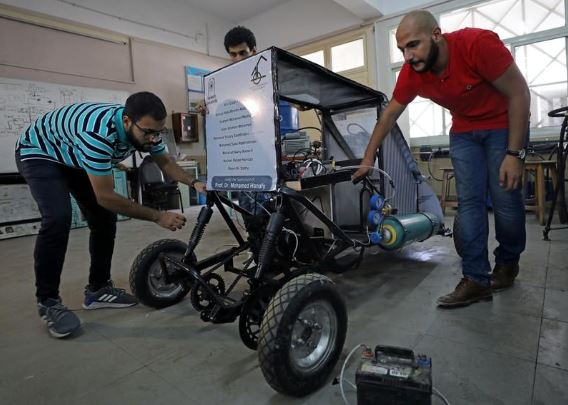AMAZING: African Students Build Car That Run On Air (See Photos)