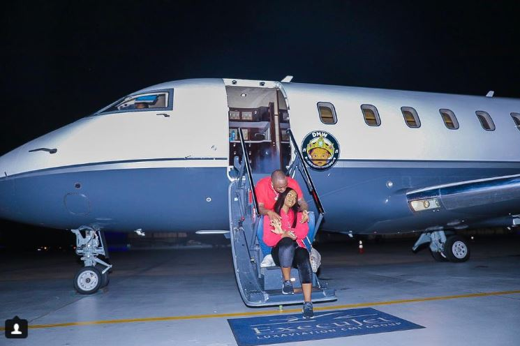Davido Shows Off His Recently Acquired Private Jet (Photos)