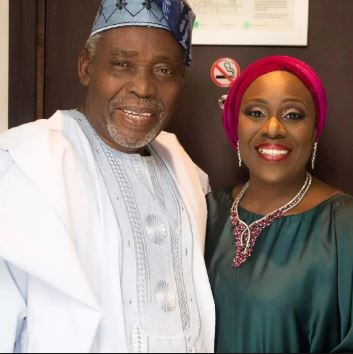 Joke Silva Shares Interesting Throwback Photo Of Her Husband, Olu Jacobs