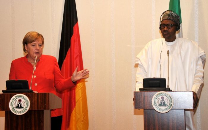 I Will Respect The Rule Of Law & International Agreements - Buhari Tells Merkel