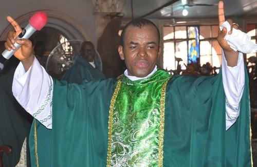 Father Mbaka Predicts Doom For Buhari After Abandoning Him, Slams Peter Obi & Atiku